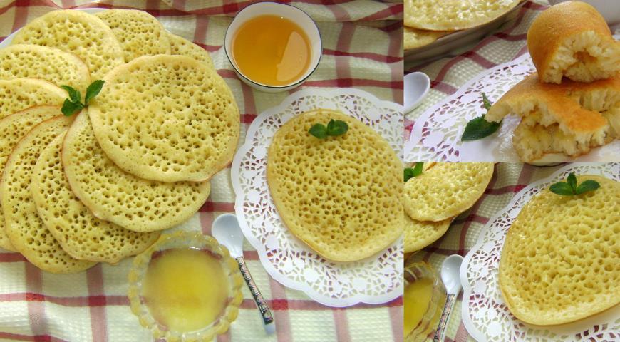Супер вкусные марокканские блинчики