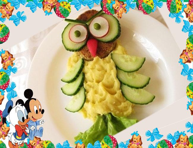 Красочное оформление повседневных детских блюд: с рецептами