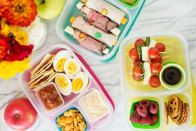 Полезные и низкокалорийные перекусы на каждый день