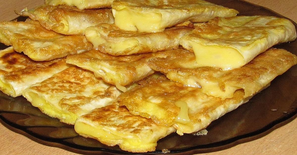 Ленивый завтрак из лаваша