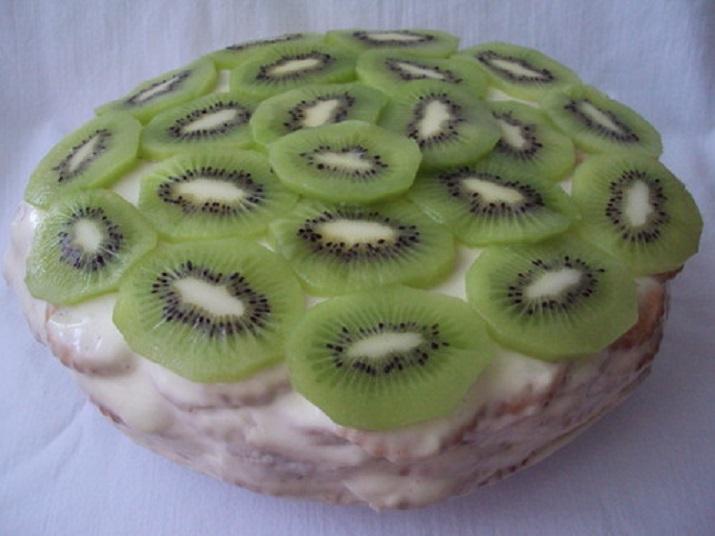 Оригинальный торт без выпечки «Нежность»
