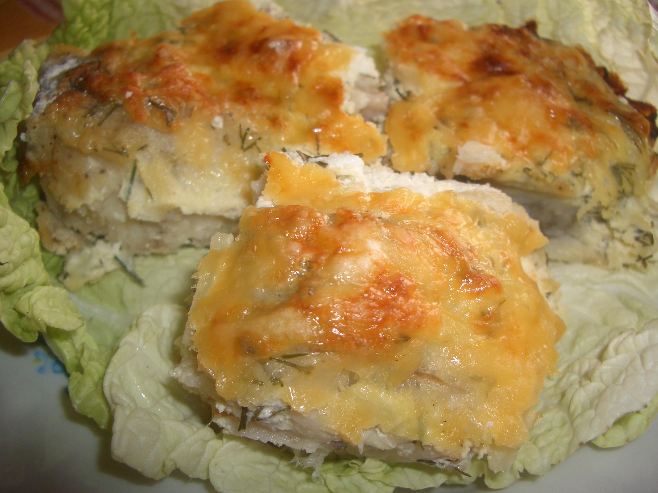 Треска запеченная в духовке рецепт с пошагово с картошкой