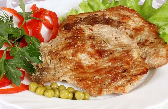 эскалоп из свинины на сковороде в кляре рецепт