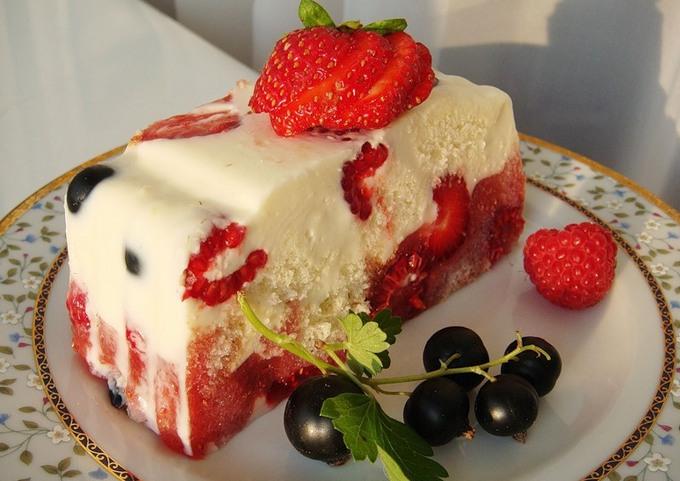 Восхитительный летний тортик
