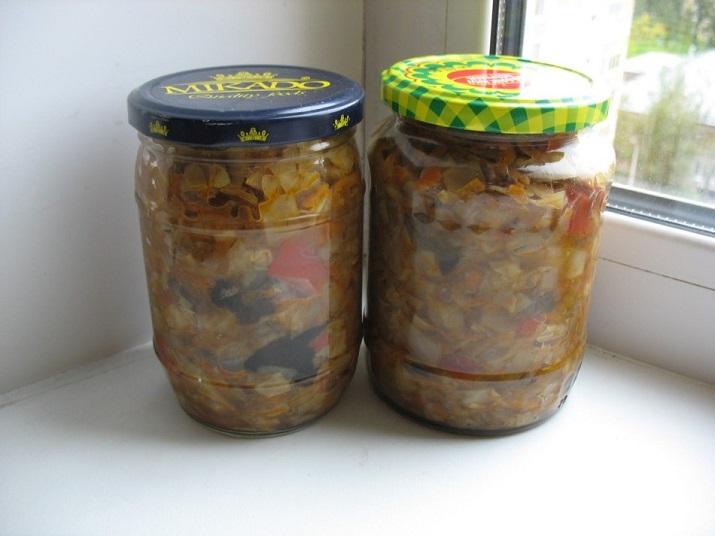 рецепты из грибов на зиму рецепты с фото