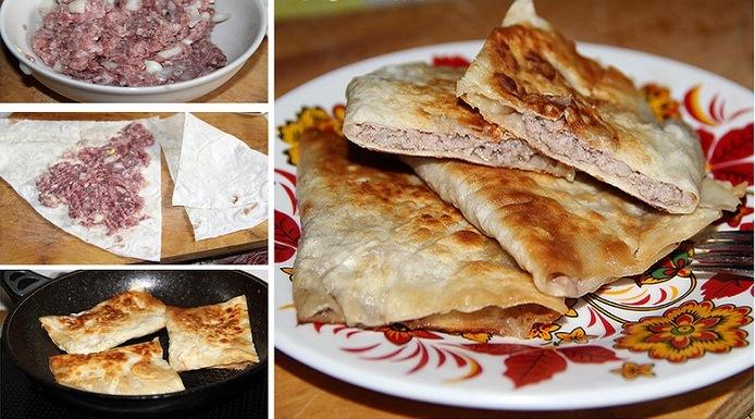 Рецепт-находка: обалденные мясные пирожочки из лаваша