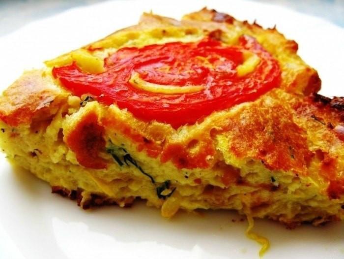 Правильный завтрак - сытная запеканка