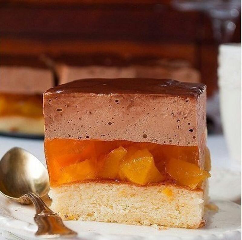 """Настоящее персиковое наслаждение - торт """"Делис"""""""