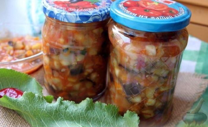 Вкусная зима: болгарский овощной салат