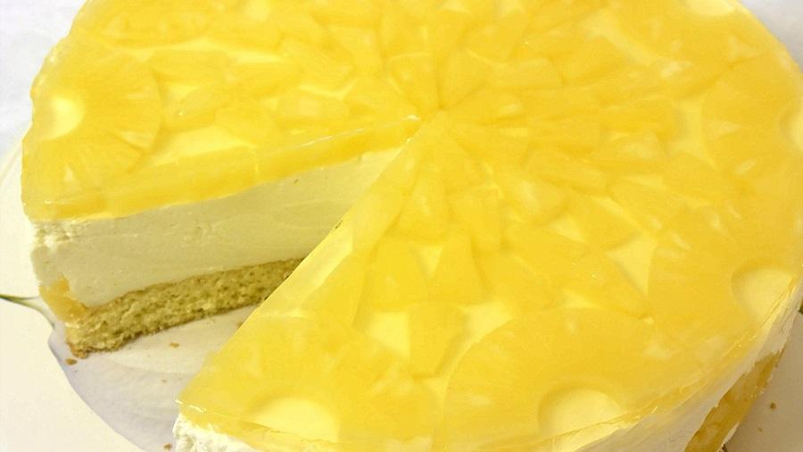 Изумительный ананасовый торт – вкуснее не бывает