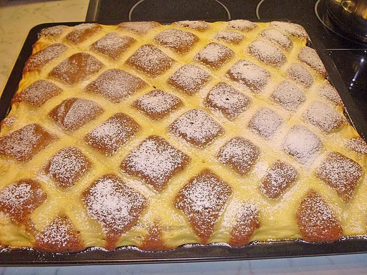 Оригинальный пирог «Стеганое одеяло»