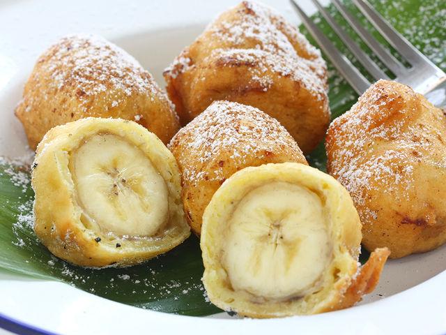 Жареные бананы в кляре рецепт