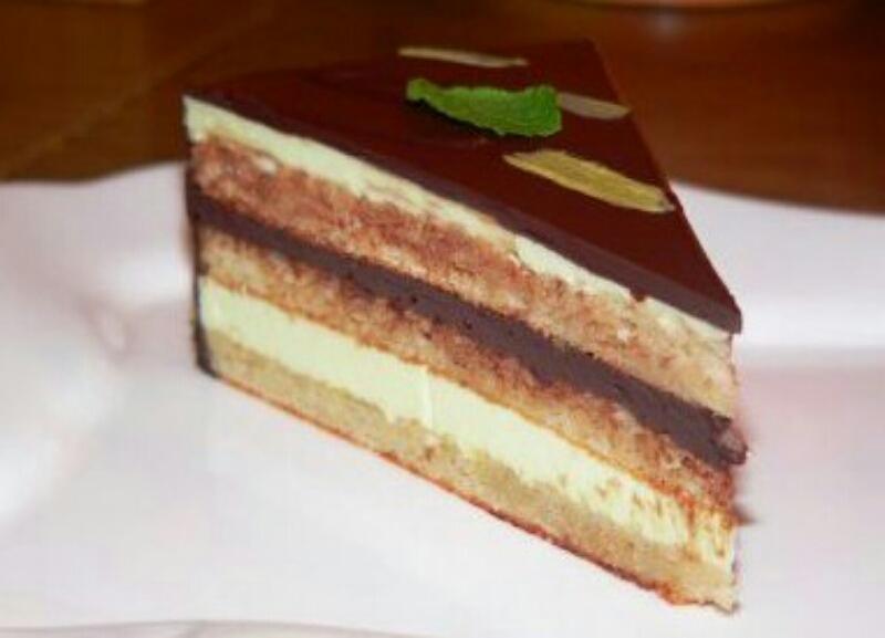 """Потрясающий торт """"Мятная опера"""""""