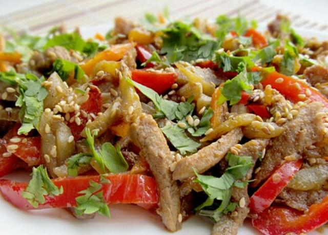 Тайские салаты рецепты с с говядиной