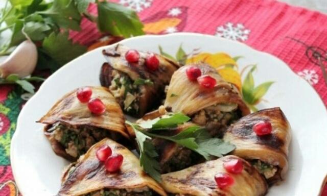 Очень вкусные баклажаны по-абхазски