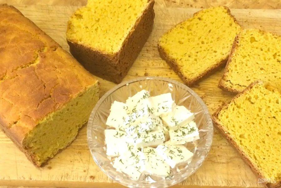 Ароматный домашний пшенично-кукурузный хлеб