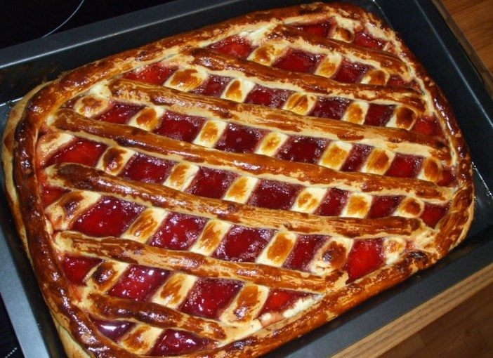 Быстрый пирога в духовке