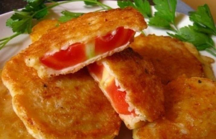 Изумительные помидоры в сырном кляре