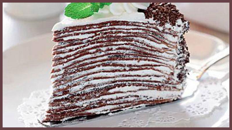 Шоколадный торт из блинчиков – вкуснейшее блюдо