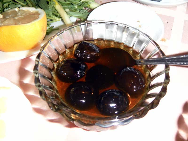варенье с грецкими орехами