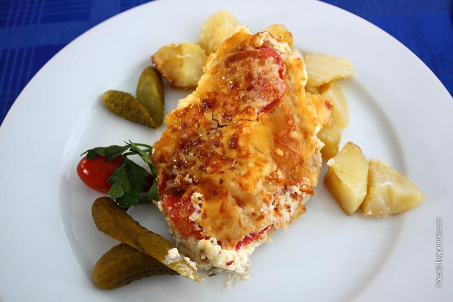 """Супер вкусное блюдо-рыба """"Царская"""""""