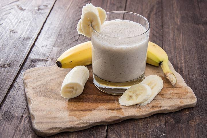 Вкуснейший банановый коктейль