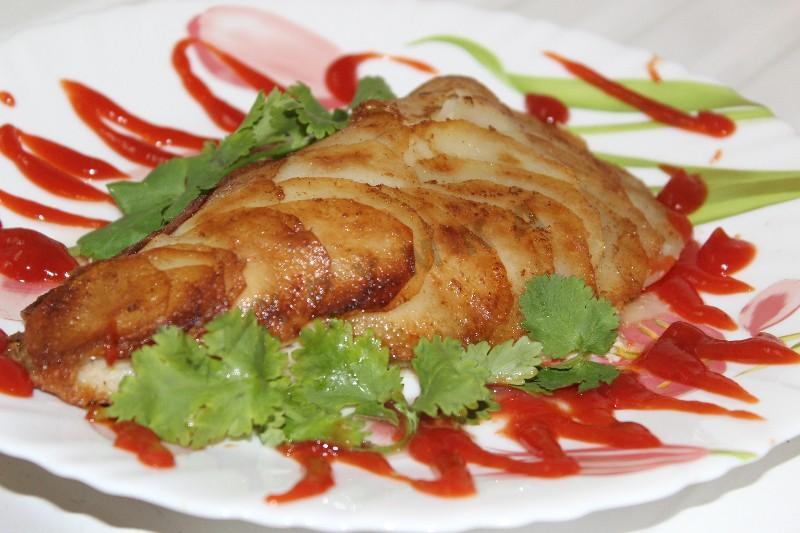 Вкуснейшая рыбка в картофельной чешуе