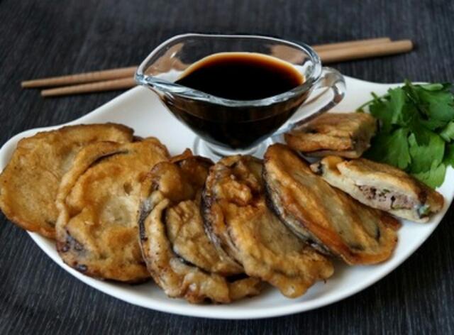 Божественные баклажаны с мясом по-китайски