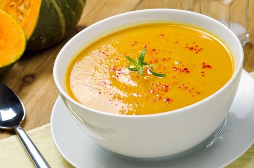 Повышающий иммунитет тыквенно-имбирный суп