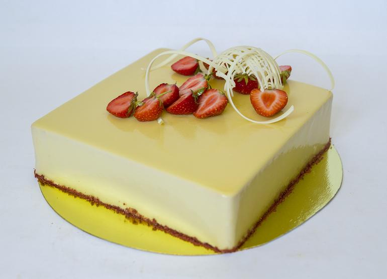 Волшебный карамельный торт