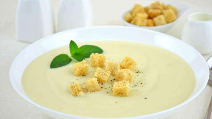 Картофельный крем-суп к обеду – готовим за 30 минут
