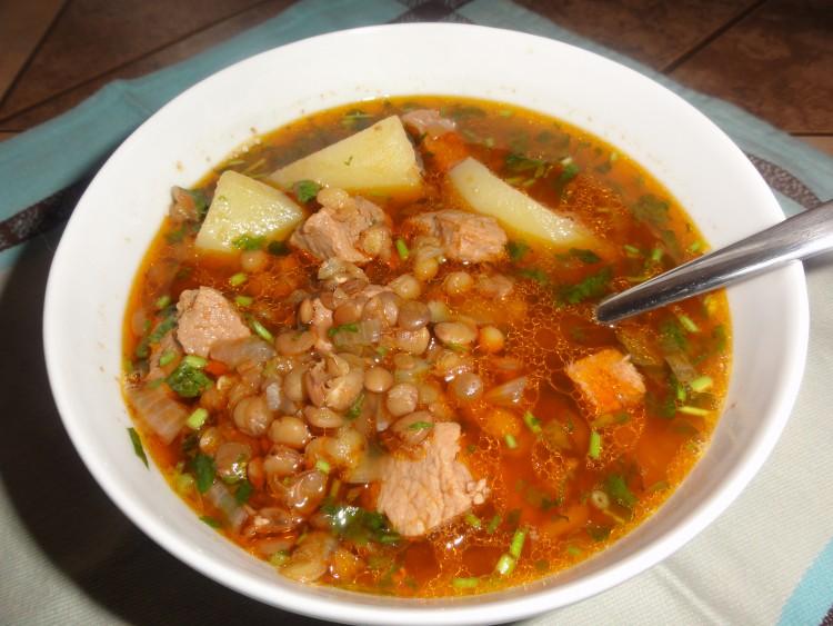 Суп из красной чечевицы с говядиной рецепт пошагово