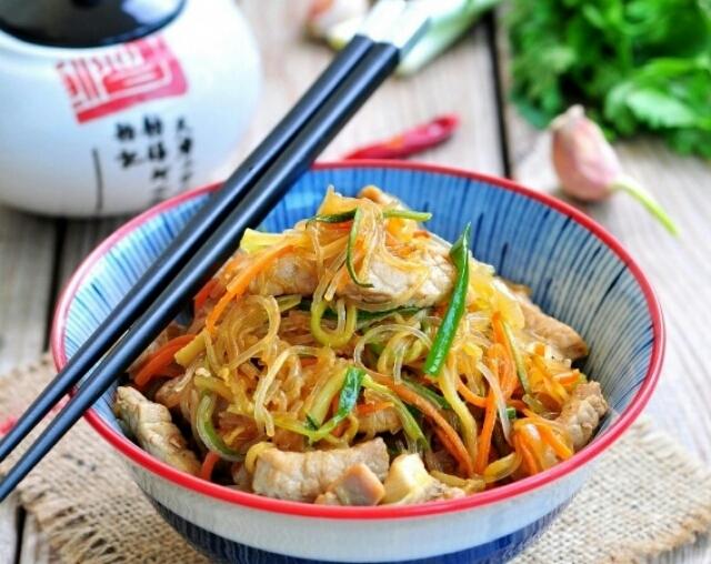 Мега вкусная свинина по-тайски