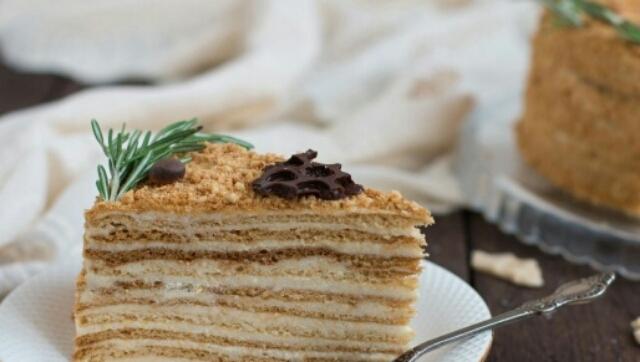 Потрясающие медовые торты