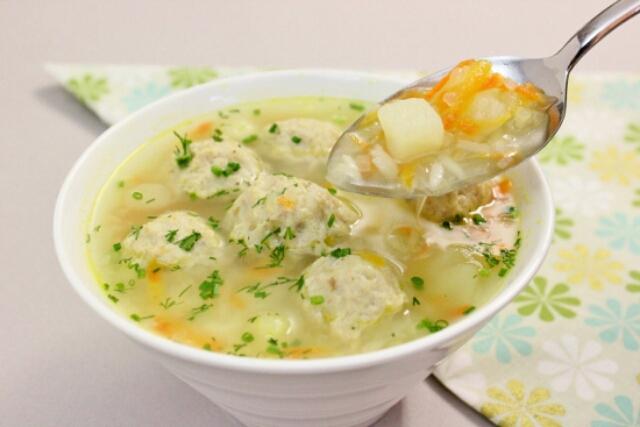 Очень вкусные супы с фрикадельками