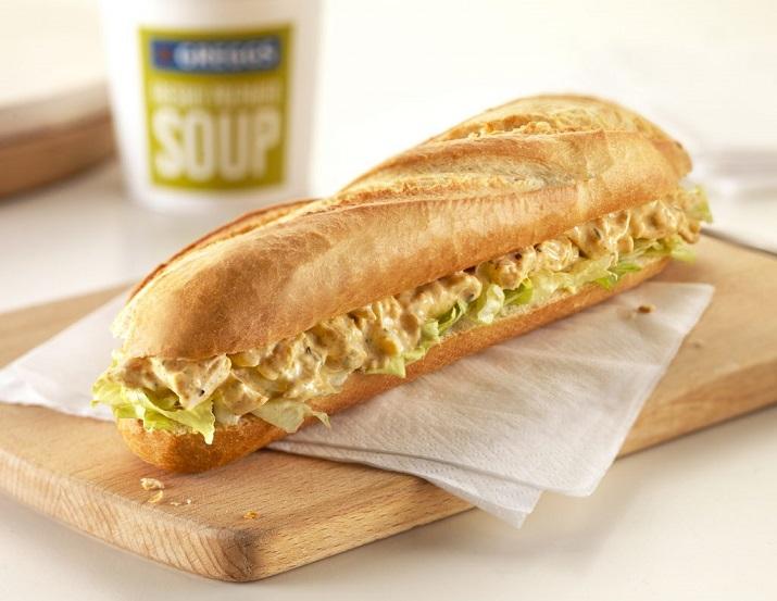 Большой сэндвич в духовке: на всю семью
