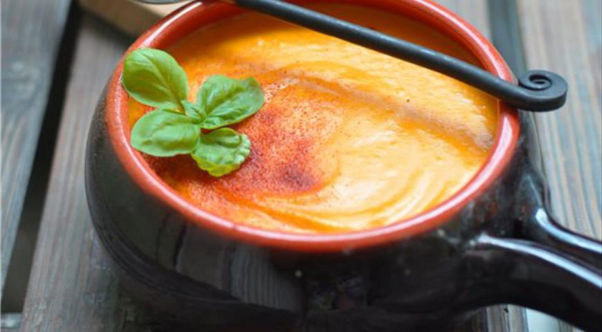 Крем-суп из тыквы для восстановления сил