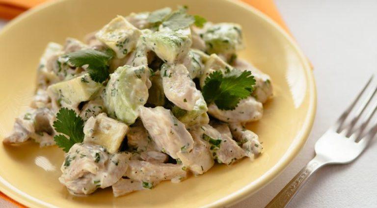 Курица с авокадо рецепты с фото