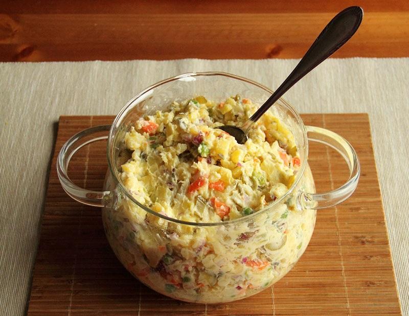 Вкуснейший салат по-чешски