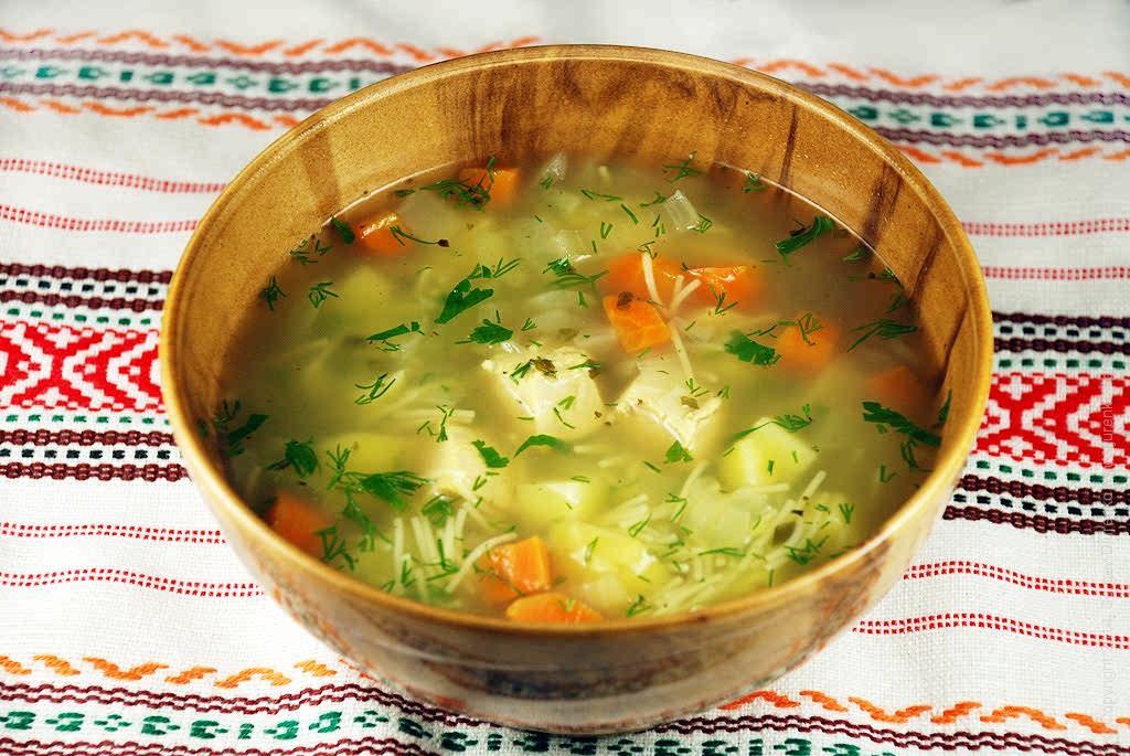 Суп из курицы рецепт с лапшой и картошкой