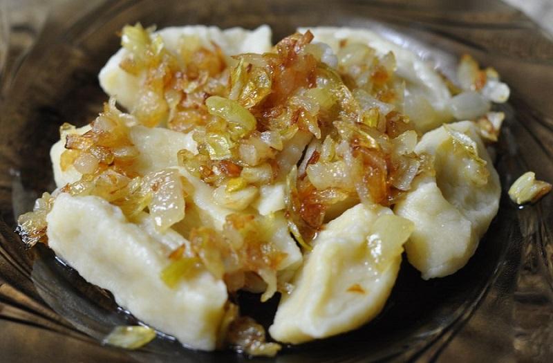 Сырные галушки по-украински: очень вкусные
