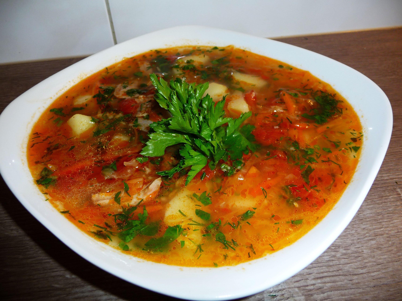 Суп с квашеной капустой и пшеном рецепт