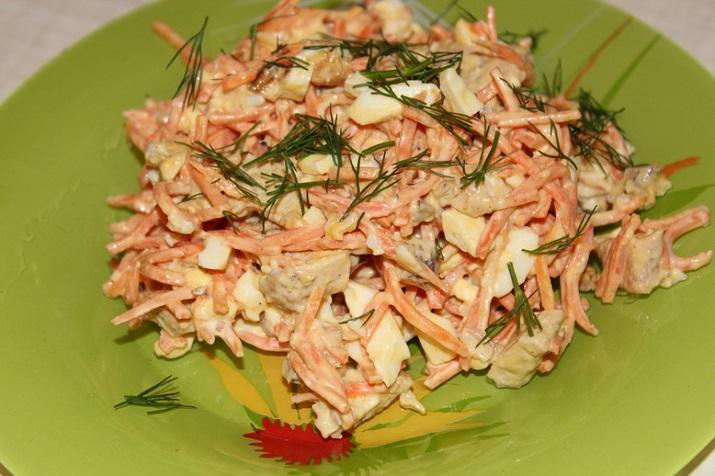 Очень простые и вкусные салаты из доступных ингредиентов
