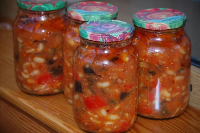 Рецепты с фасолью на зиму рецепты с пошагово