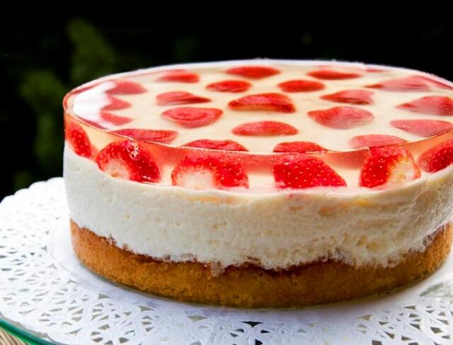 Потрясающий желейный тортик в мультиварке
