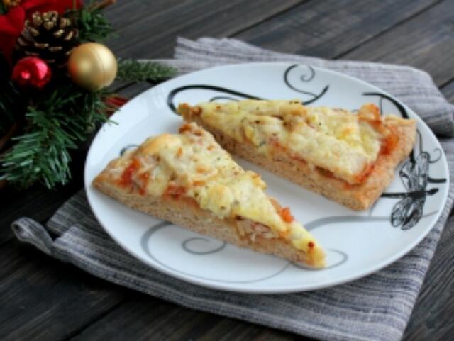 Обалденная пицца с бужениной и лечо