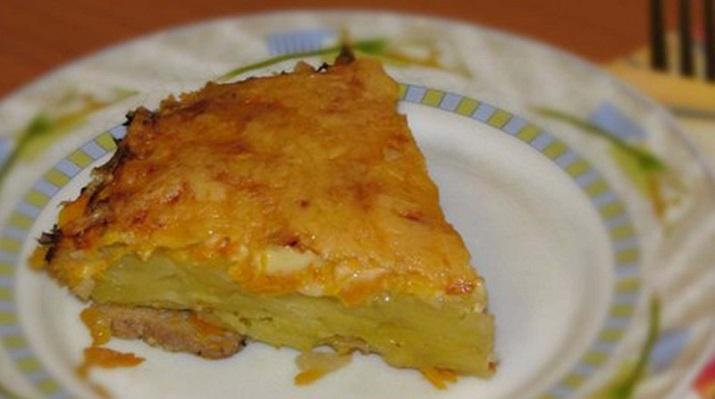 Старинное русское блюдо «Драчена из картофеля»