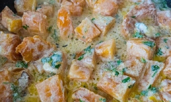 Тыква в сметанном соусе: вы пожалеете, что не готовили это раньше