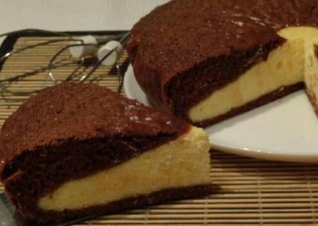 "Обалденный шоколадный пирог-ватрушка ""Ярмарка"""