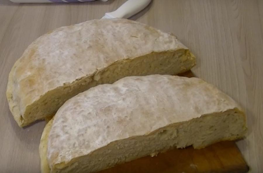 Вкуснейший хлебушек на картофельном отваре